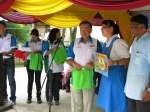 A beaming winner from SMK Tmn Petaling Girl School
