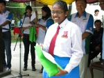 A happy student from SMK Tmn Petaling  School