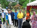 Gasing Indah Dengue Event graced by YM Tunku Naquiyuddin