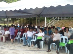 Participants at the Dengue event