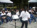 School band getting started